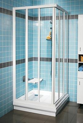 szögletes zuhanykabin